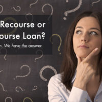 non recourse loan vs a recourse loan for real estate financing options