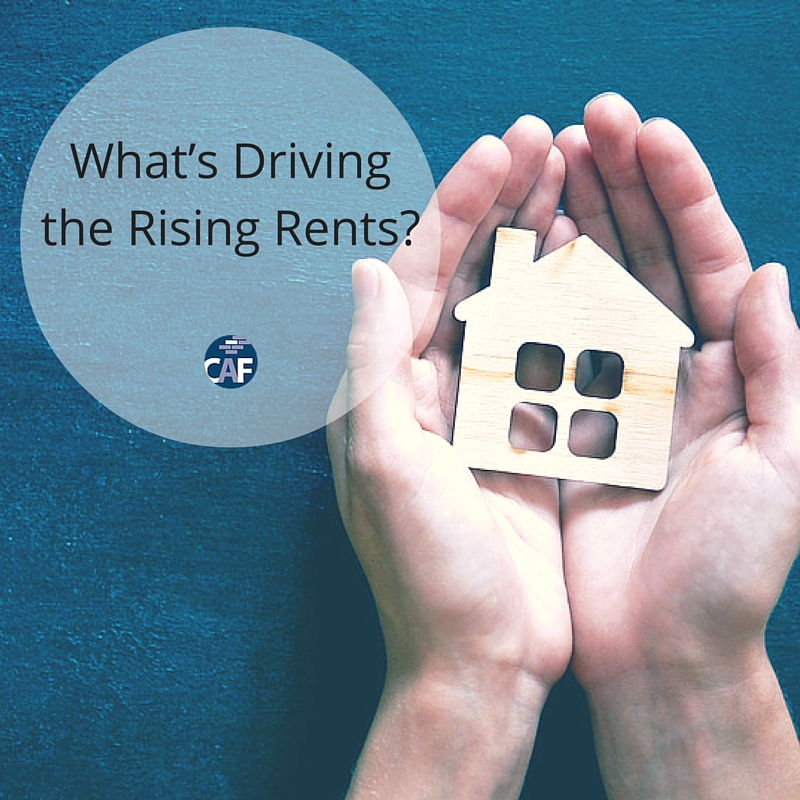 Whats Driving the Rising Rents by Colony American Finance