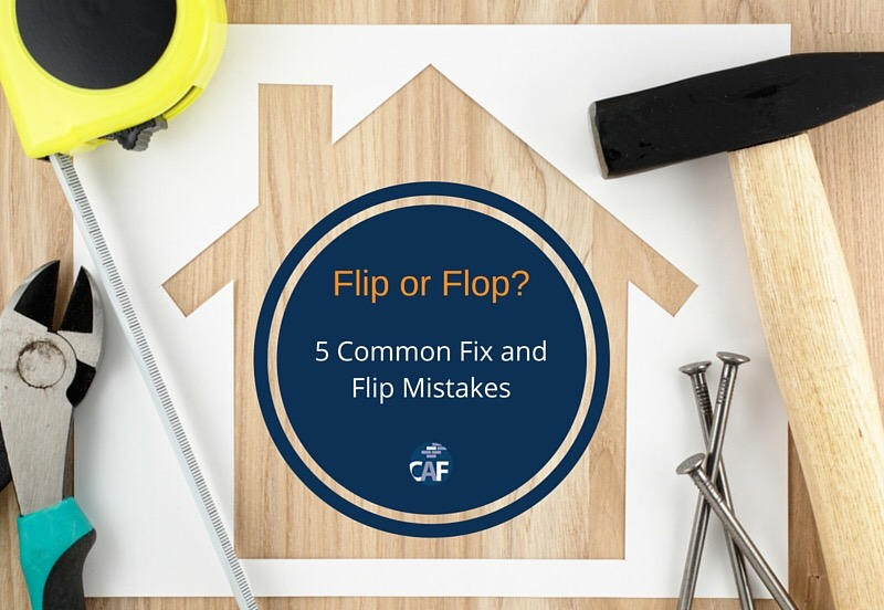 common fix and flip mistakes