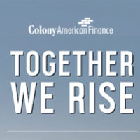 Together We Rise with Colony American Finance