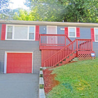 after the exterior shot for this red revival house of the week by Colony American Finance